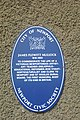 St Woolos Blue Plaque.jpg