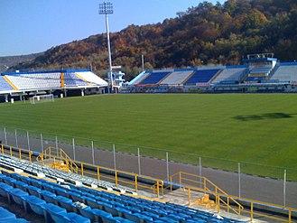 AF Gloria Bistrița - Image: Stadionul Jean Padureanu