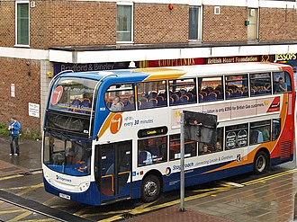 Stagecoach in Lincolnshire - Alexander Dennis Enviro400 in Lincoln in 2008