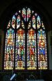 Stained glass window, the Parish Church of St John the Baptist, Bodicote - geograph.org.uk - 1898182.jpg