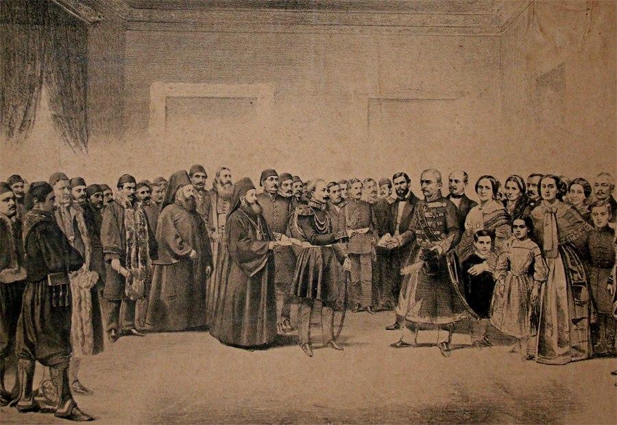 Stanojlo Petrović i knez Miloš Obrenović