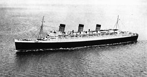 Ocean liner - Image: State Lib Qld 1 171411 Queen Mary (ship)