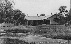 Charleville, Queensland - First Charleville Hospital, circa 1911