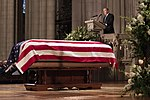 State Funeral of George H. W. Bush, the 41st President of the United States 181205-D-LP265-1239.jpg