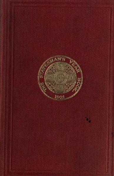 File:Statesman's Year-Book 1921.djvu