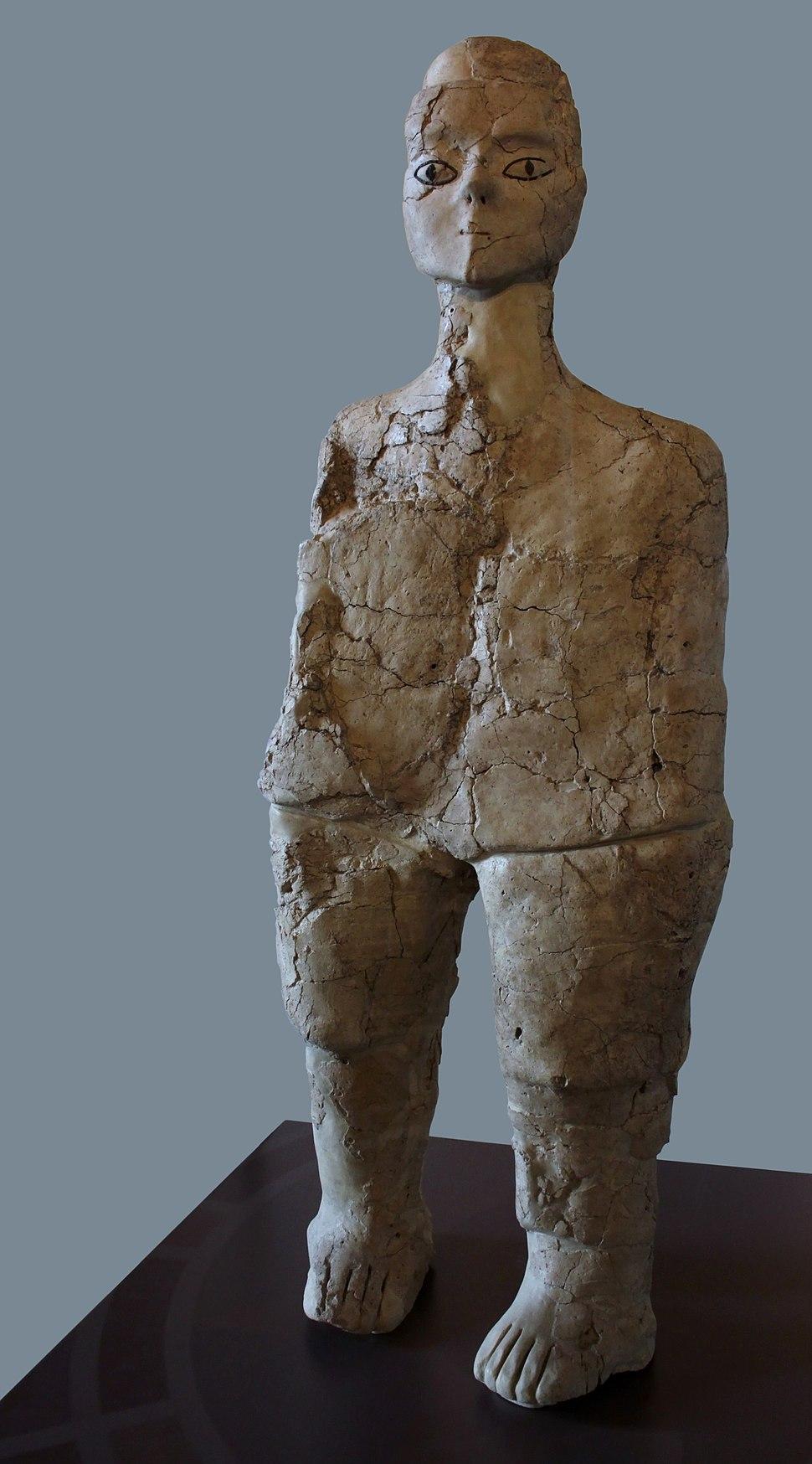 Statue Aïn Ghazal Louvre AO 14012018 1
