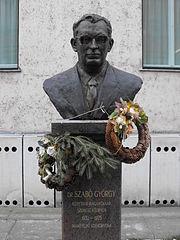 Statue of György Szabó