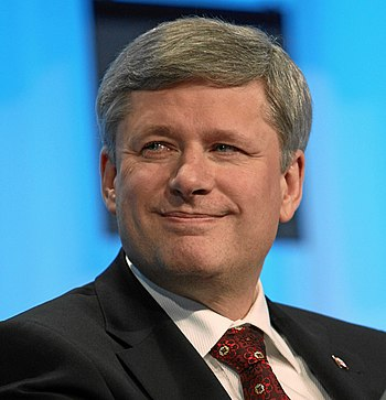 English: Stephen Harper, Canadian Prime Minister