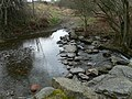 Stepping Stones and Ford across Nant Cawrddu. - geograph.org.uk - 711043.jpg