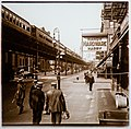 Stereograph of 6th Avenue at Waverly Place in New York City.jpg