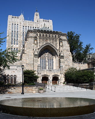Yale Debate Association -  Yale's Sterling Memorial Library, location of the YDA Records