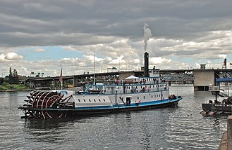 Maverick (film) - The Portland was used in the film as the steamboat Lauren Belle in the film.