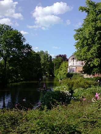 St Hilda's College, Oxford - Milham Ford Building by the River Cherwell