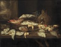 Still Life with Halibut and other Fish (Abraham Hendricksz van Beyeren) - Nationalmuseum - 18451.tif