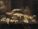 Still Life with Halibut and other Fish (Abraham Hendricksz van Beyeren) - Nationalmuseum - 18451.tif