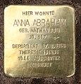 Stolperstein Georg-Wilhelm-Str 12 (Halsee) Anna Abraham.jpg