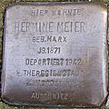 Stolperstein Mittelweg 8-10 Hermine Meier.jpg