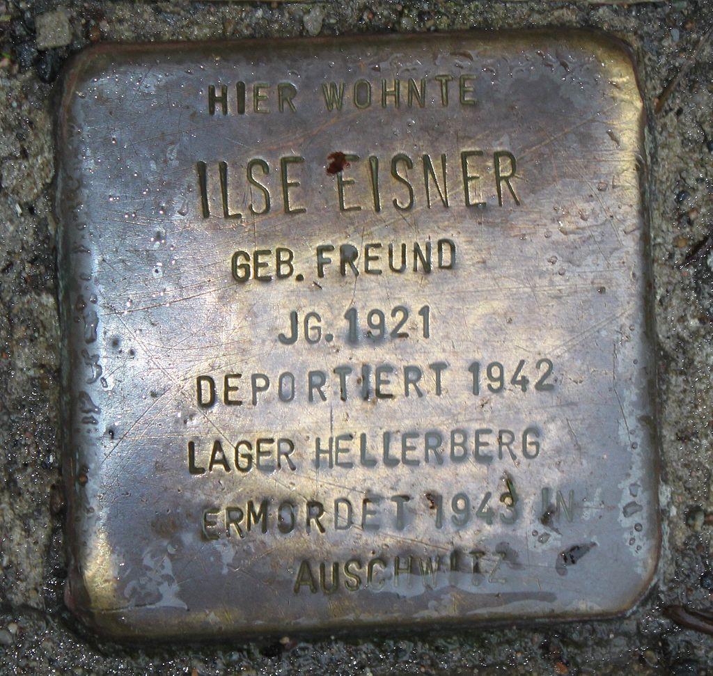 Stolperstein Radebeul Ilse Eisner.JPG