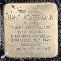 Stolperstein Sächsische Str 62 (Wilmd) Hans Ackermann.jpg