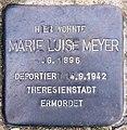 Stolperstein Straße zum Löwen 19 (Wanns) Marie Luise Meyer.jpg