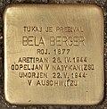 Stolperstein für Bela Berger (Murska Sobota).jpg