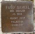 Stolperstein für Fanny Samuel.jpg