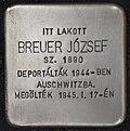 Stolperstein für Jozsef Breuer (Nyíregyháza).jpg