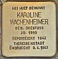Stolperstein für Karoline Wachenheimer (Esch-sur-Alzette).jpg