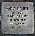 Stolperstein für Maria Daniel.JPG