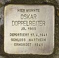 Stolperstein für Oskar Doppelreiter.JPG