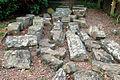 Store of stones awaiting restoration, Raglan Castle - geograph.org.uk - 1531722.jpg