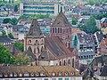 Straßburg Blick vom Münster auf St. Thomas.jpg
