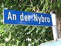 Straßenschild An der Nybro, Tastrup 2014.jpg