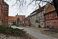 Stralsund, Auf dem Sankt Nikolaikirchhof, Badenstraße, Hof (2012-03-18), by Klugschnacker in Wikipedia.jpg