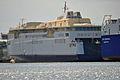 Stralsund, Volkswerft, Fährschiff Copenhagen (2013-07-30) 2, by Klugschnacker in Wikipedia.JPG