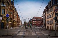 Strasbourg boulevard de la Victoire février 2016.jpg