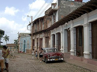 Special Period - A street in Trinidad, Cuba, in 2006