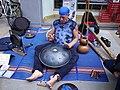 Street musician, Cornmarket - geograph.org.uk - 452727.jpg