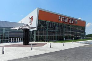 Stroh Center - Exterior view in 2011