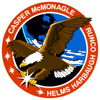 Gregory J. Harbaugh - Image: Sts 54 patch