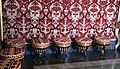 Studiole del re 02 sgabelli a tamburo in stile impero.JPG