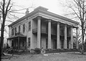 Sturdivant Hall - Sturdivant Hall, front facade in 1934.