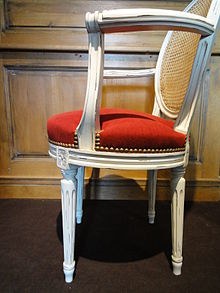 Style louis xvi wikip dia for Bureau meuble wikipedia