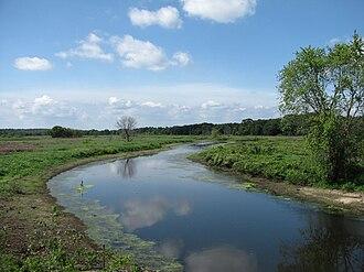 Sudbury River - Image: Sudbury River, Wayland MA