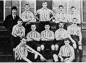 The United team from 28 September 1895 before a match against Stoke City. Sufc1895.jpg