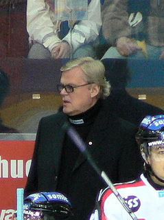 Finnish ice hockey player and coach