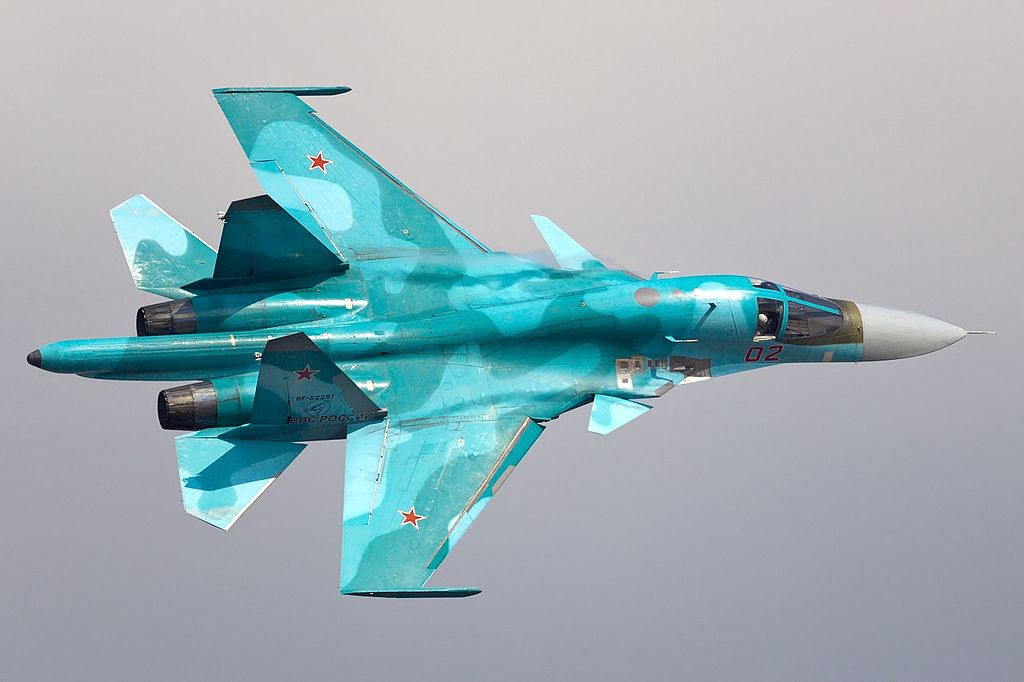 Russian Air Force >> File:Sukhoi Su-34 (Su-32FN), Russia - Air Force AN2196840.jpg - Wikimedia Commons