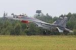 Sukhoi Su-35S 'RF-95242 - 03 red' (37318602991).jpg