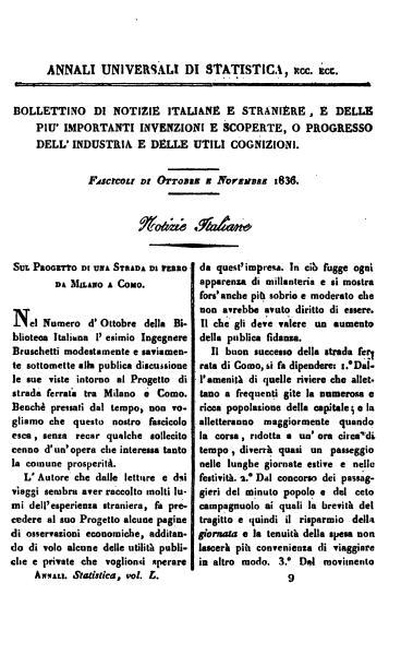 File:Sul progetto di una strada di ferro da Milano a Como.djvu