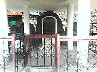 Rinchan - Rinchan Shah Shrine at River Jehlim Bank in Downtown Area
